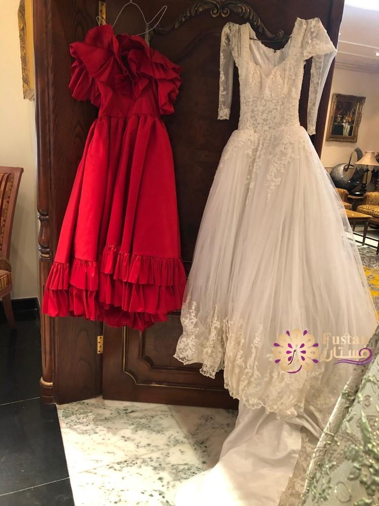 فستان زفاف لم يستعمل جديد