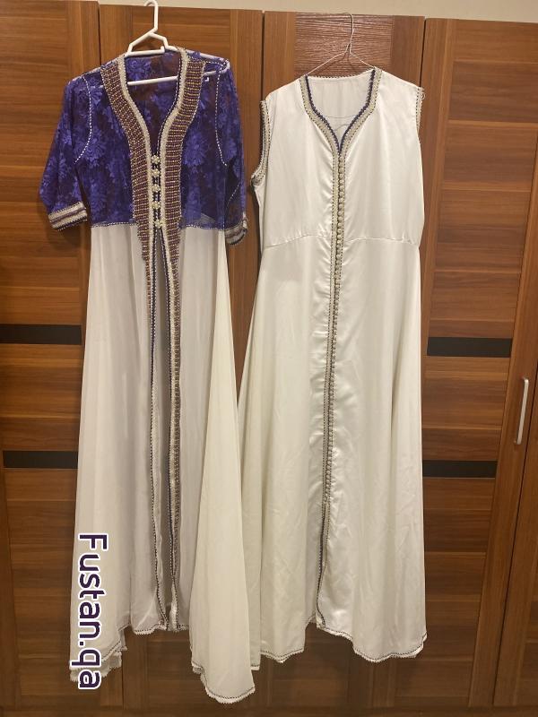 فستان مغربي لبسة واحدة