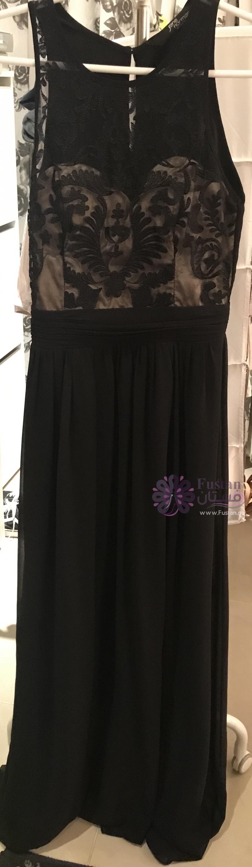 Black&Champagne Jane Norman Maxi Dress
