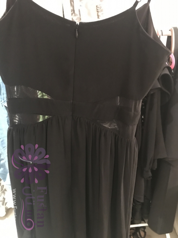 Black Shired Maxi Dress