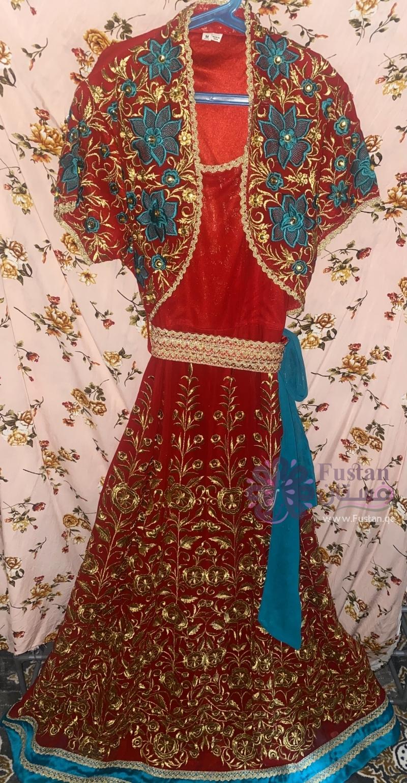 فستان سهره تصميم هندي