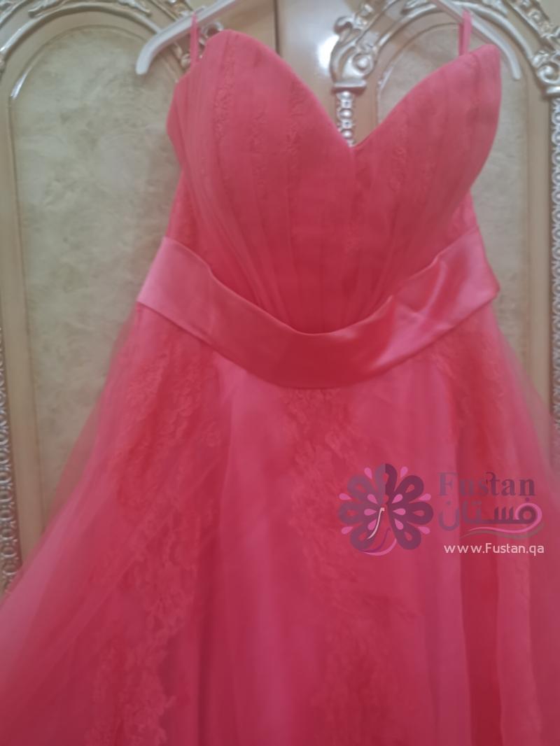 فستان مشمشي
