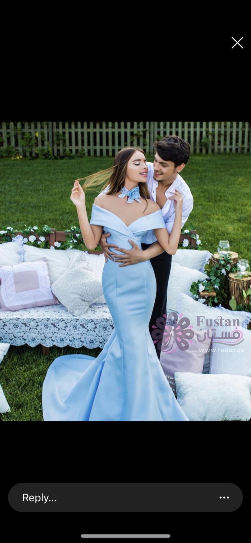 فستان جديد من مصمم تركي