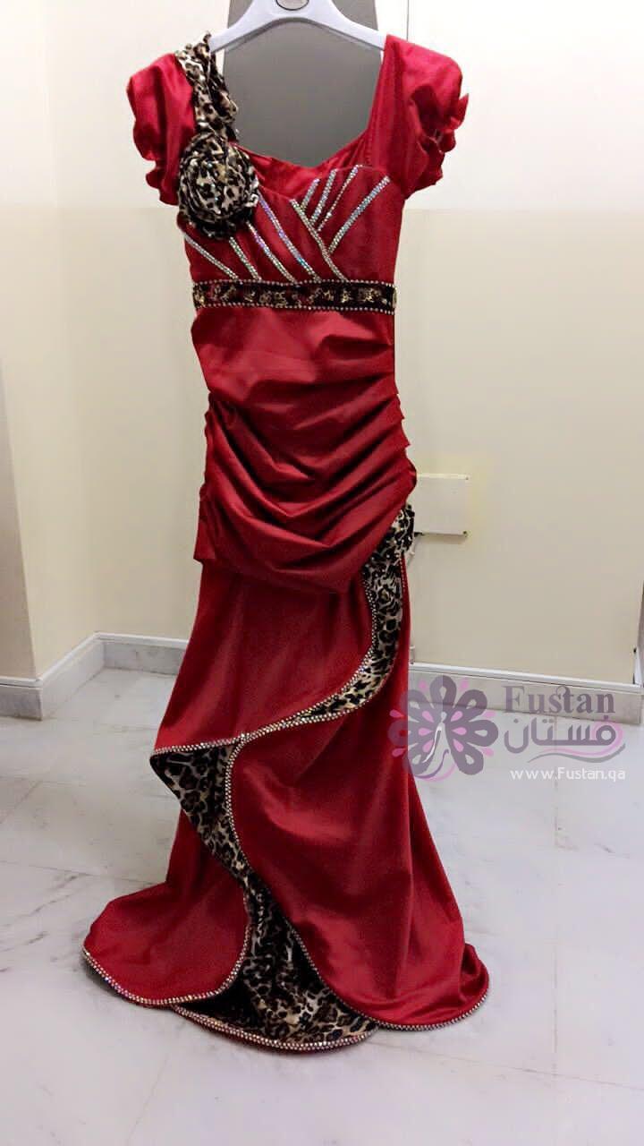 فستان سهرة جميل