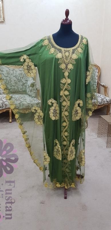 ثوب تقليدي  لحفلات الزواج أو الحنا او سهرات رمضان