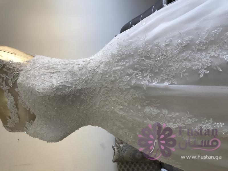 فستان سهرة تصميم خاص