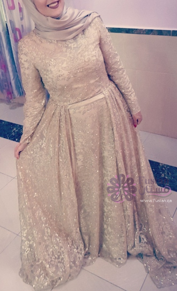 فستان سهرة او حفلة ملوكي