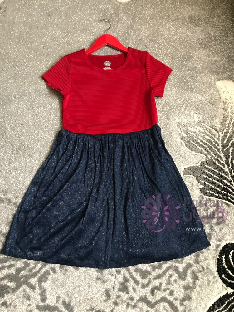 فستان بناتي مع جاكيت