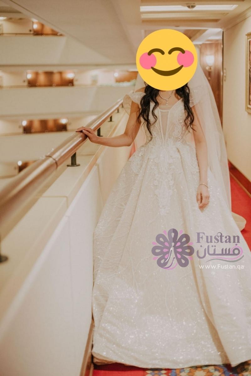 فستان زفاف ملوكي فخم