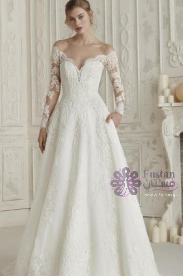 فستان زفاف موديل 2020