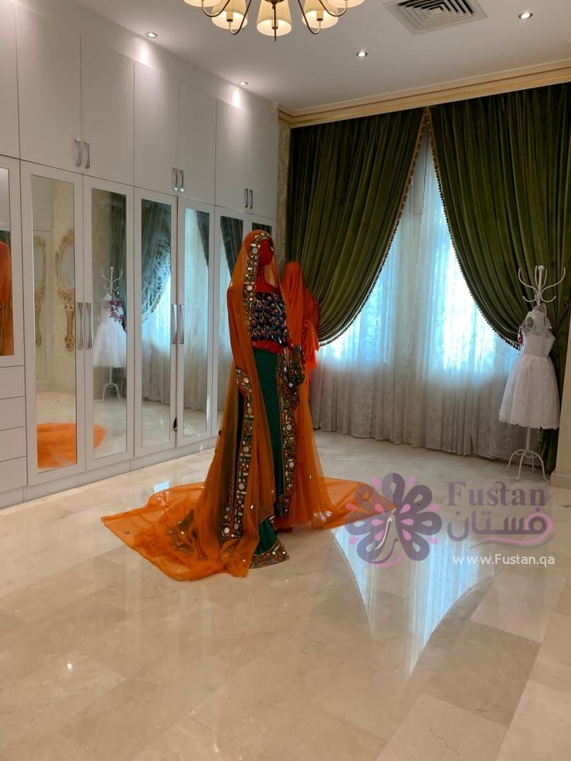 فستان حنة للعروس