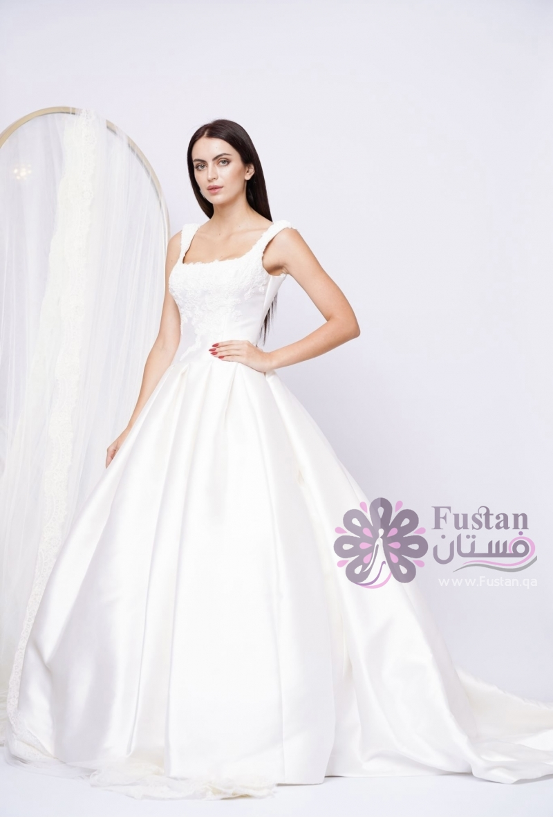 فستان زفاف راقي