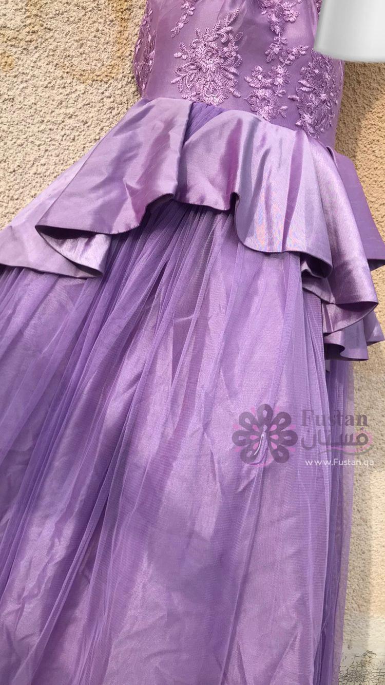 فستان سهره /عرس بنفسجي💜