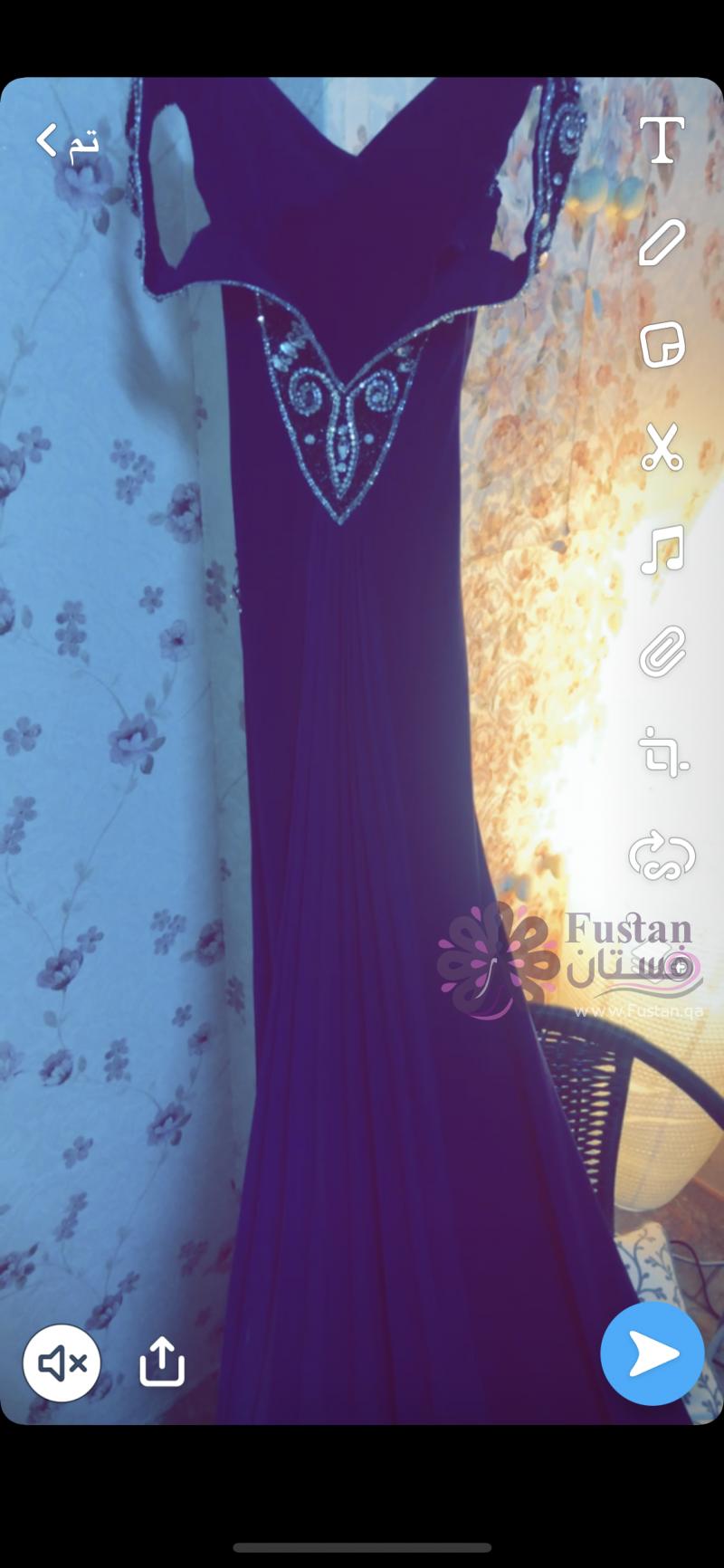 فستان ناعم للحفلات