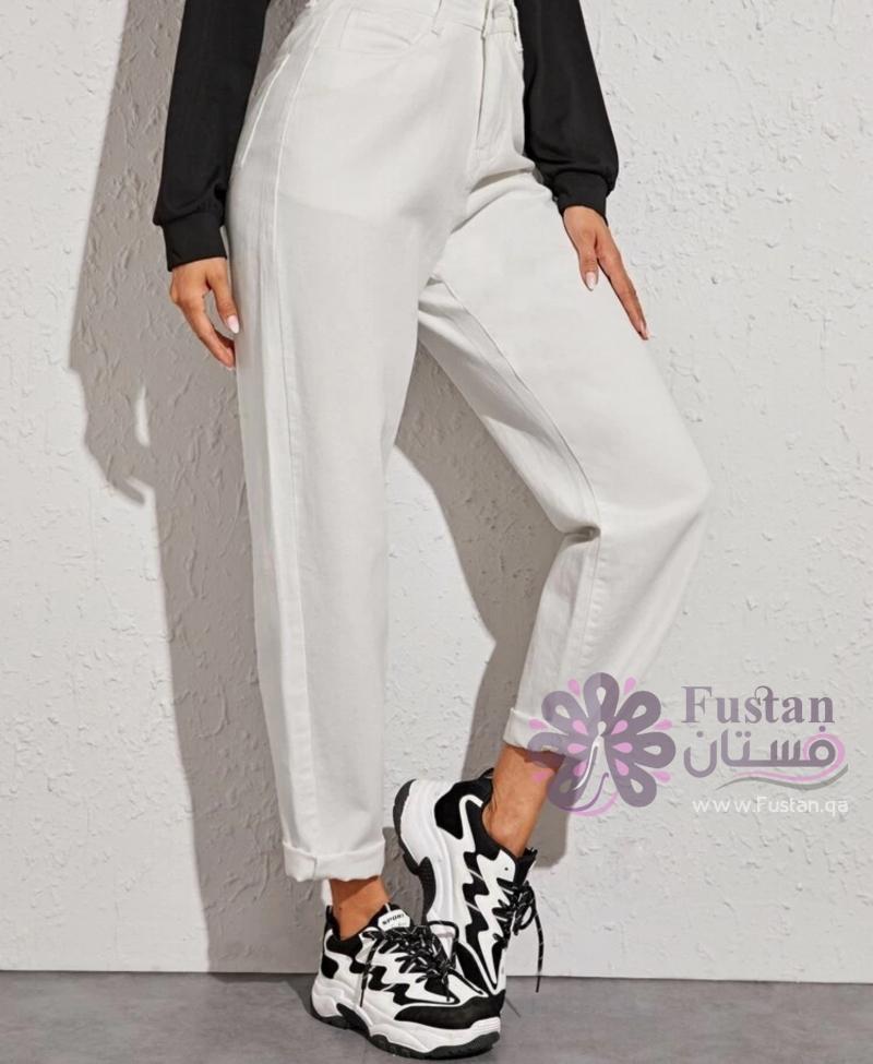 بنطلون أبيض - white pants