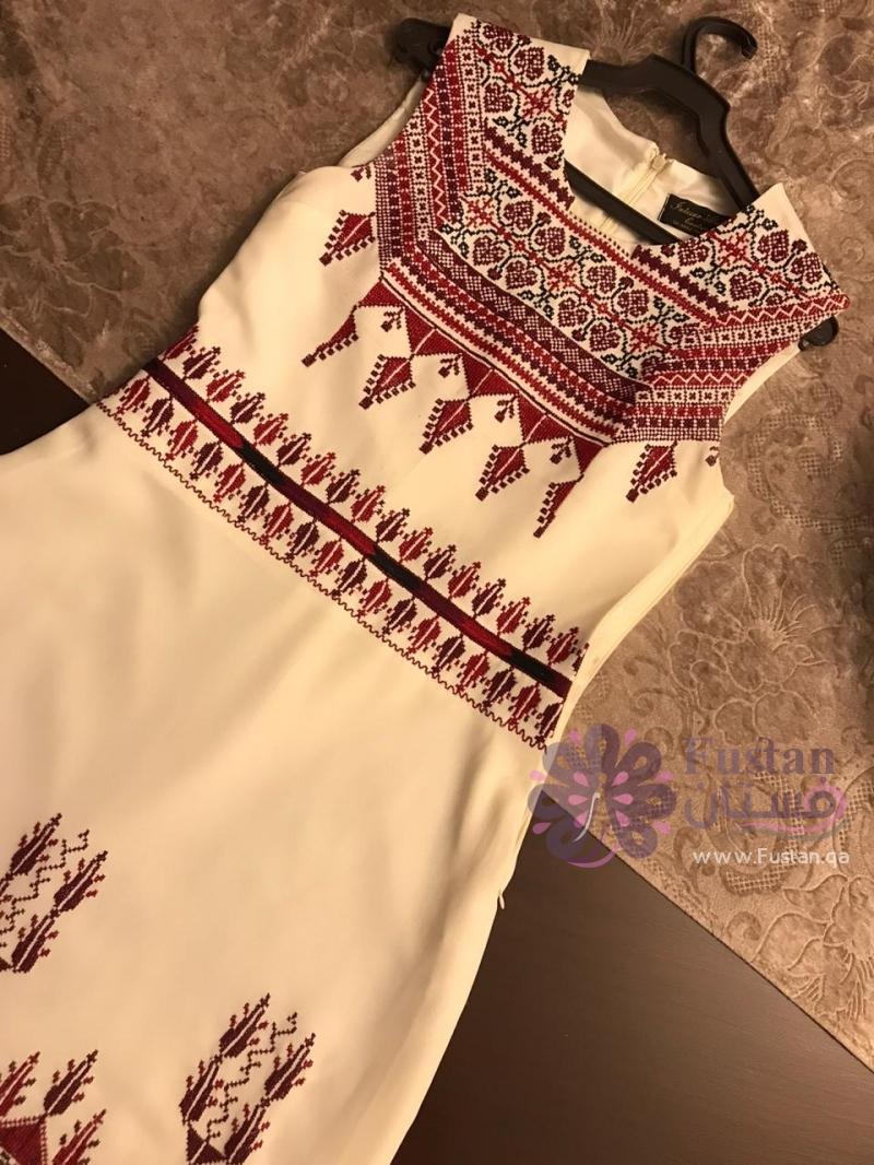 ثوب فلسطيني مناسب لحفلة الحنا