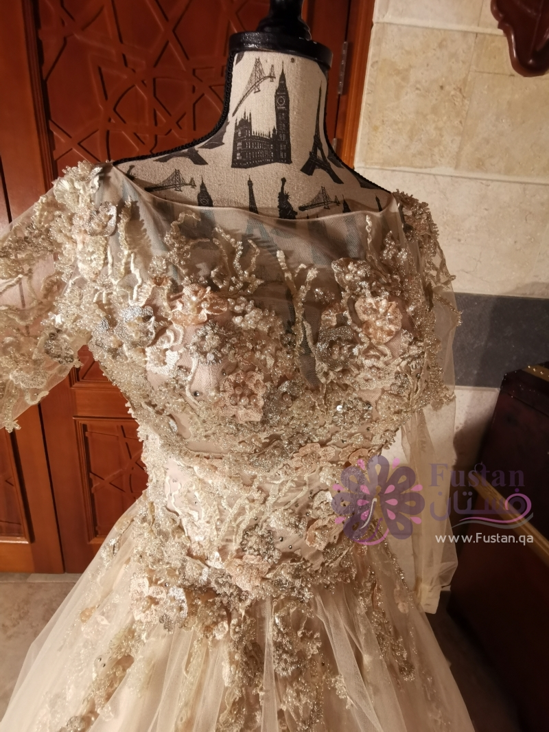 فستان مناسبات ..