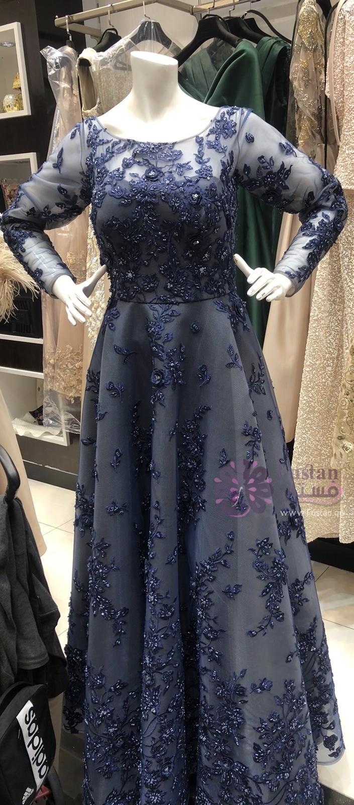 فستان عرس تطريز كامل