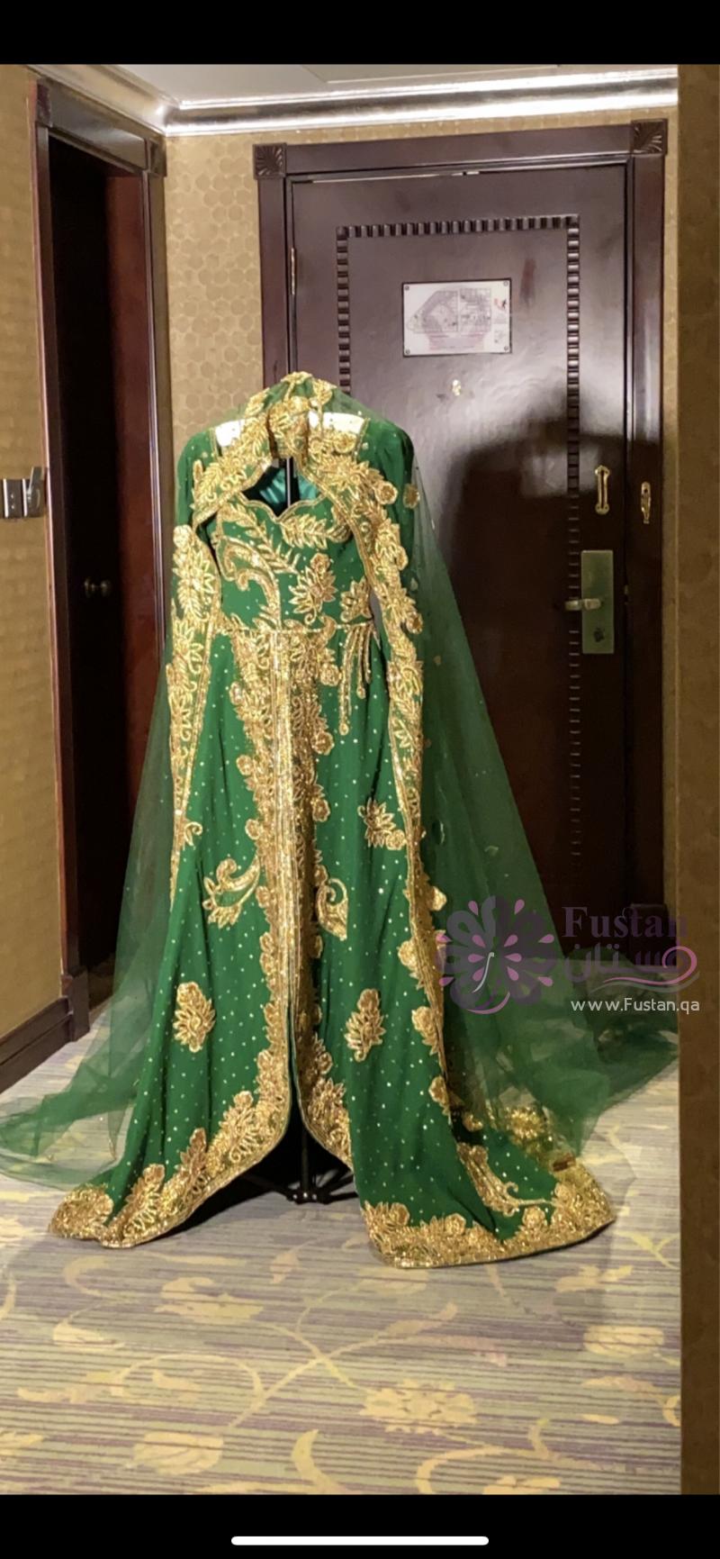فستان حنه راقي قماش هندي
