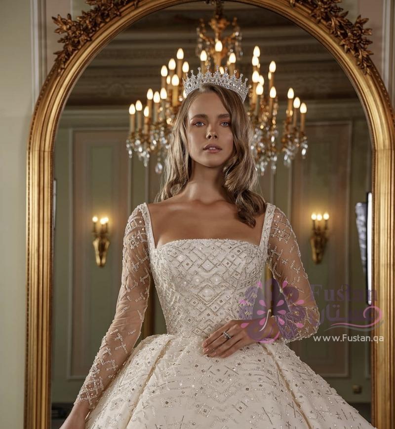 فستان عرس موديل ٢٠٢١