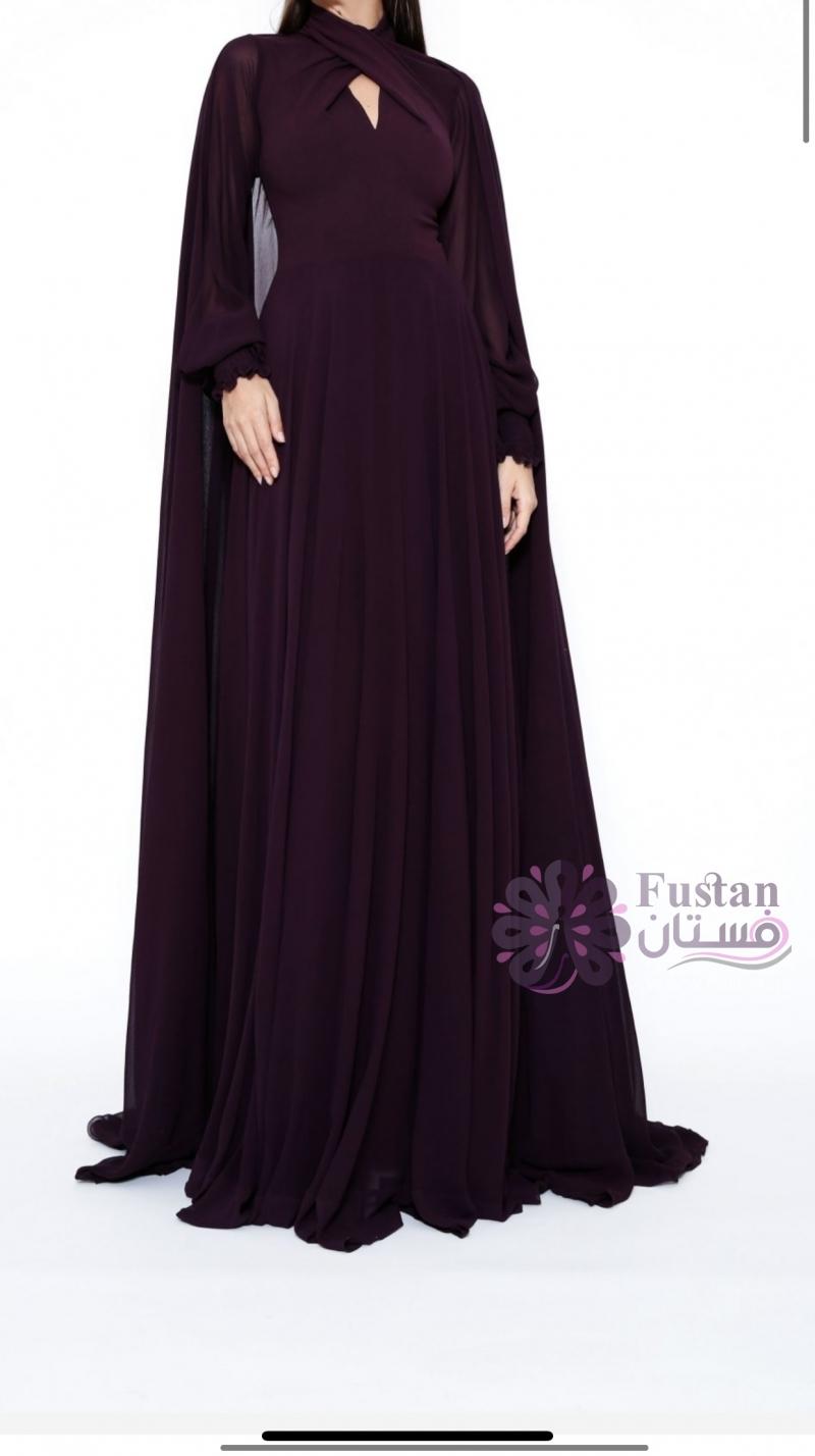 فستان سهره تصميم زينا زكي ٢٠٢١