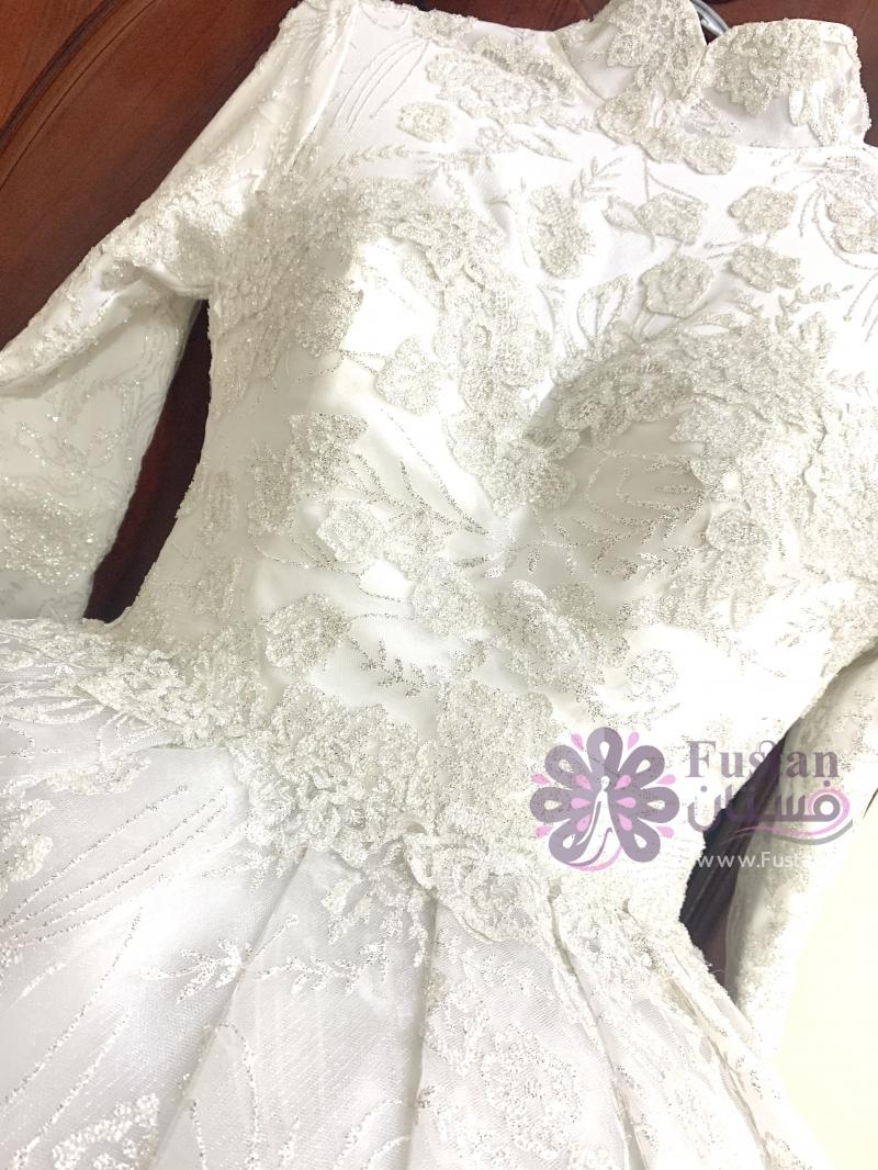 فستان زفاف ملوكي