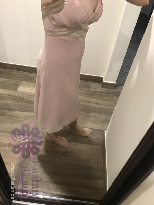 فستان سهرة زهر ناعم