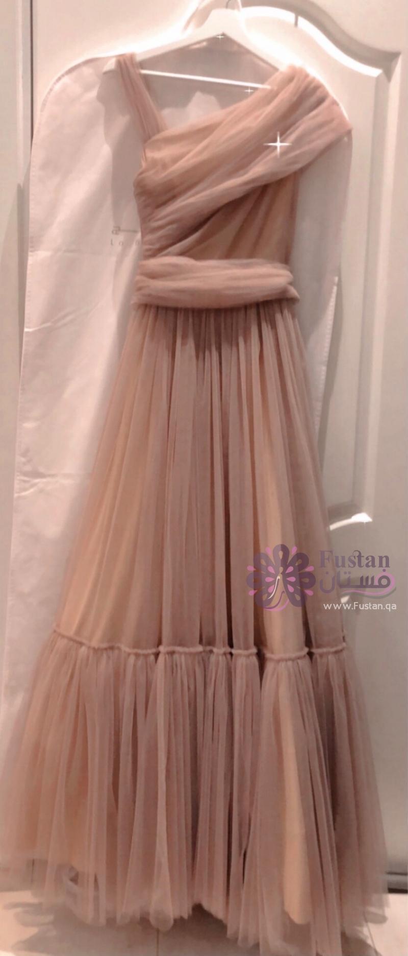 فستان المصممة marmar halim