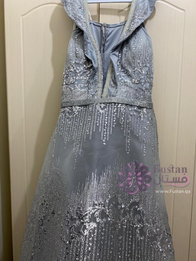 فستان تركي بلون أسود ملوكي