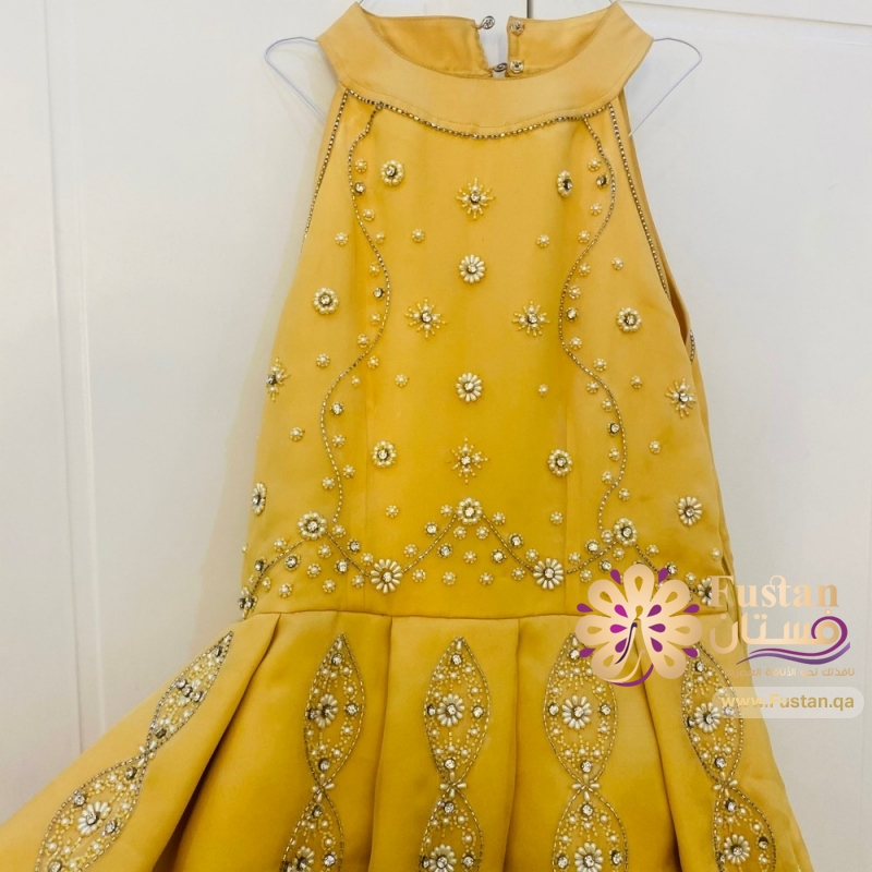 فستان تم تفصيله