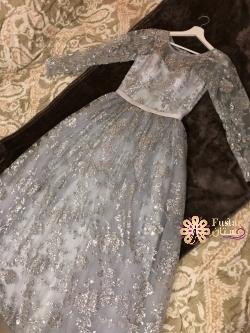 فستان حفله منفوش