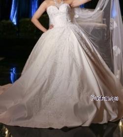 فستان عرس من لبنان ملبوس ساعتين ٢٠٢٠