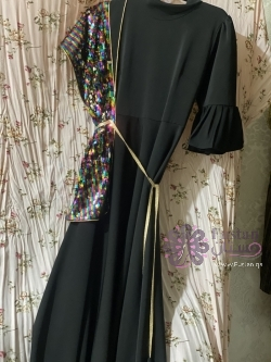 فستان تصميم كويتي