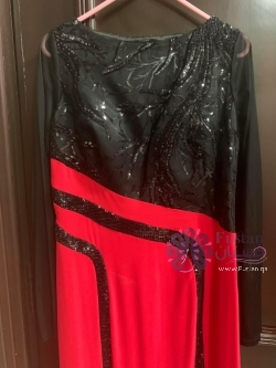 Chic Evening Dress for Veiled ladies