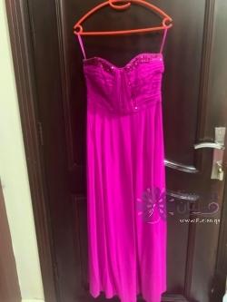 A classy evening dress