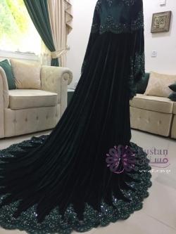 فستان تركي بذوق لبناني
