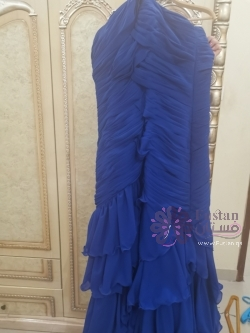 فستان نيلي مقاس ١٦