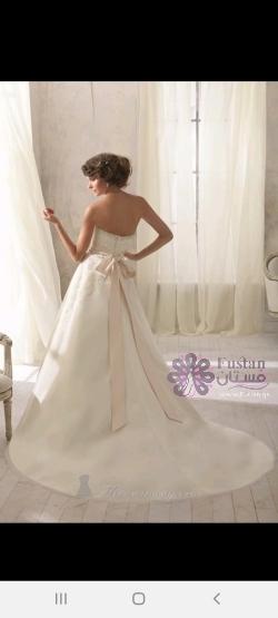 فستان عرس ناعم