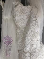 فستان عروس مقاس M إلى L للبيع أو الايجار