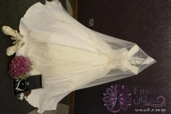 فستان زفاف تصميم تركي