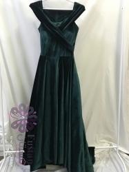 فستان محمل بقصة فخمة