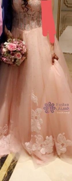 فستان ملكة او خطوبة فخم