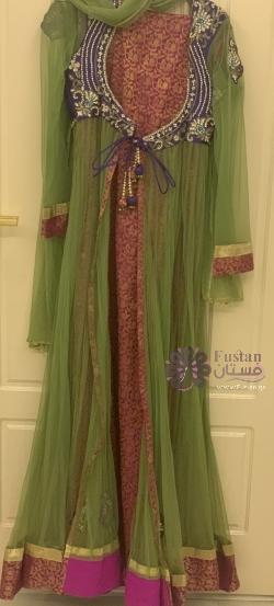 فستان عالطراز الهندي