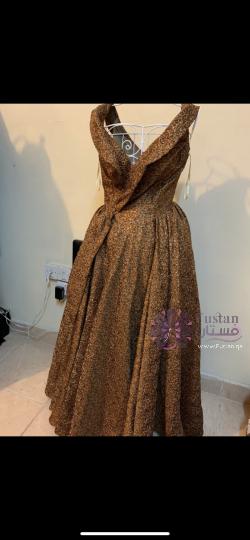 فستان سهره فخم ( فستان ملكة )