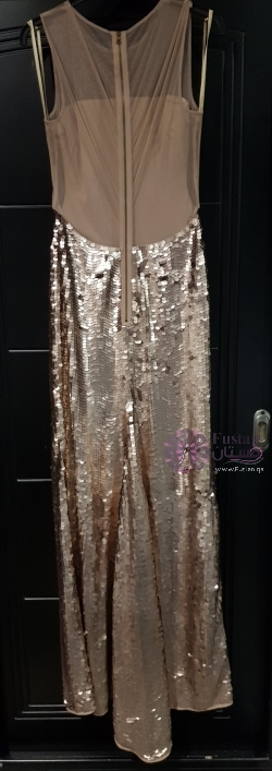 BCBG Gold Sequined Dress