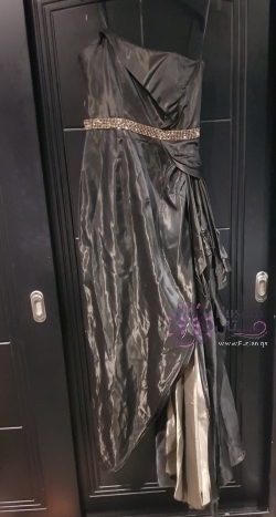 Black and Gold Oscar's Gown Replica