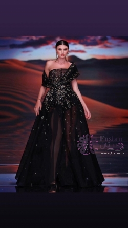 فستان موديل لابرجواز
