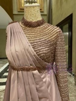 فستان سهرة للحامل