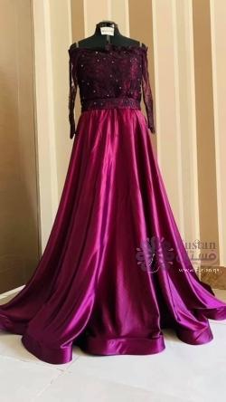 فستان سهرة ملكي ball gown