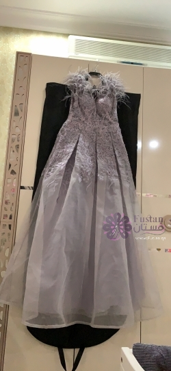 فستان سهرة اللعرايس